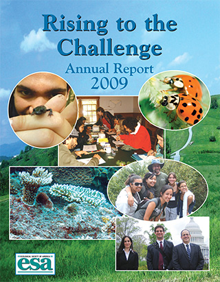 2009 Annual Report Cover.