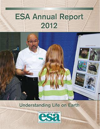 2012 Annual Report Cover.