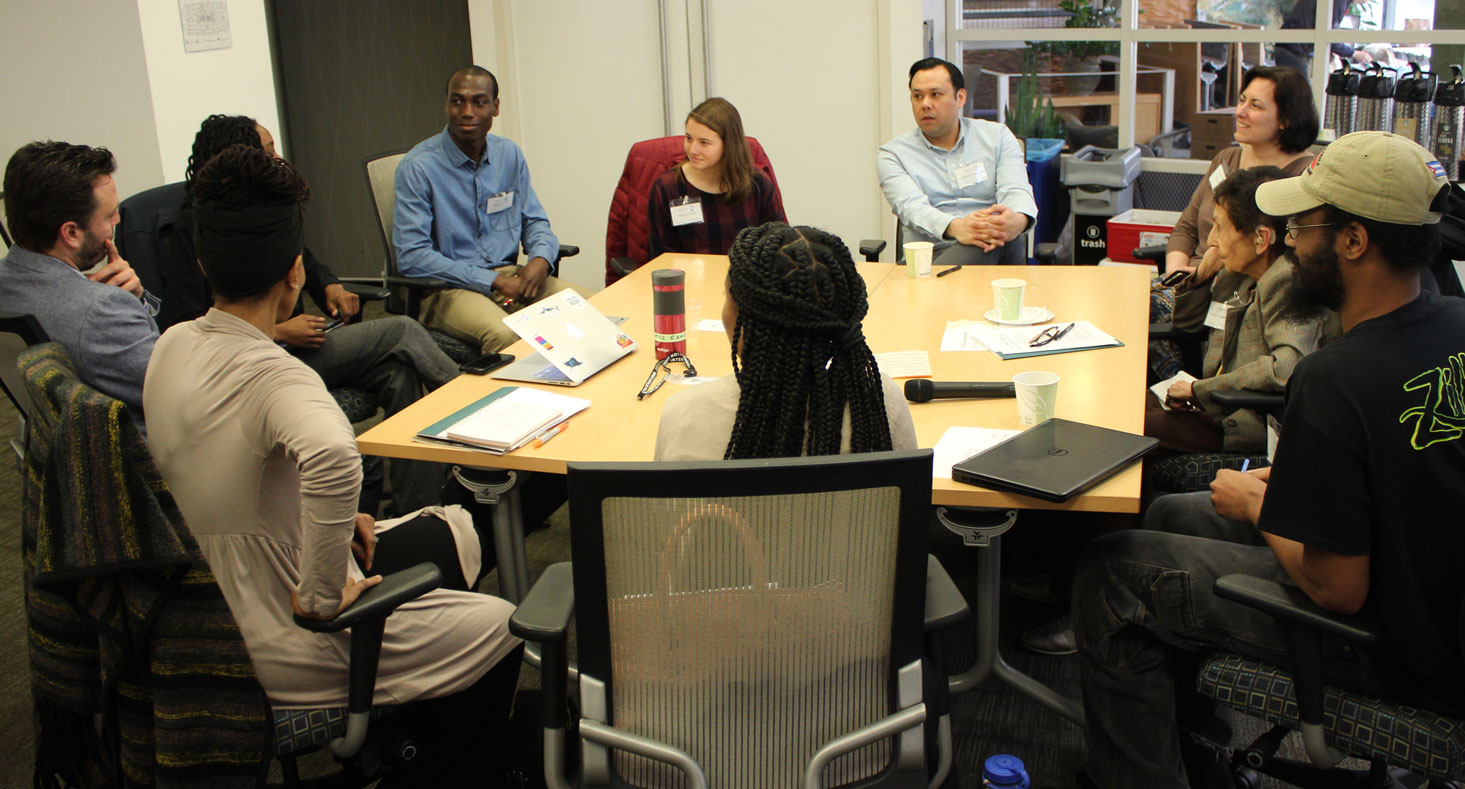 Mentor-mentees gathering at EcologyPlus event