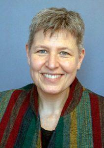 Portrait image of plenary speaker, Karen Warkentin..